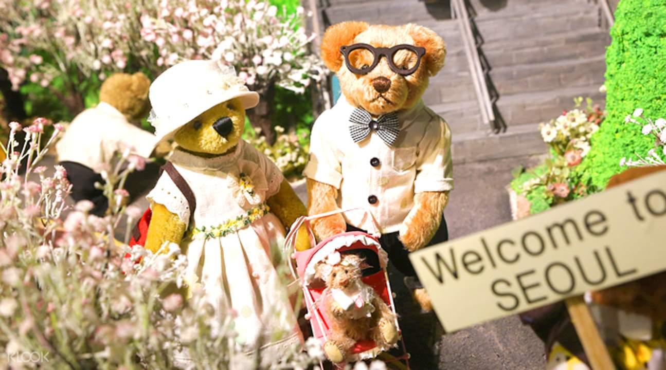 首爾鍾路泰迪熊展覽館