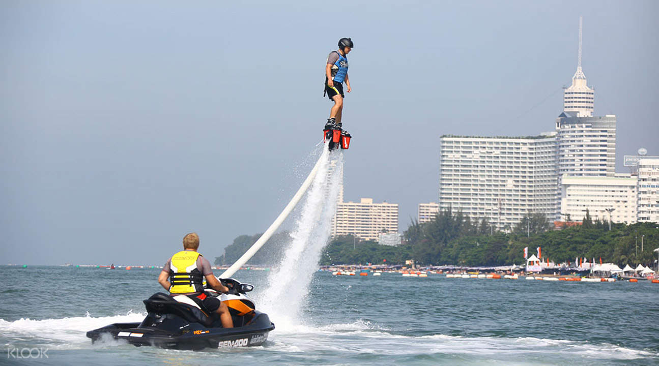 Thailand flyboarding