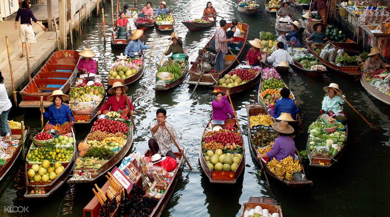 Best floating market in Bangkok