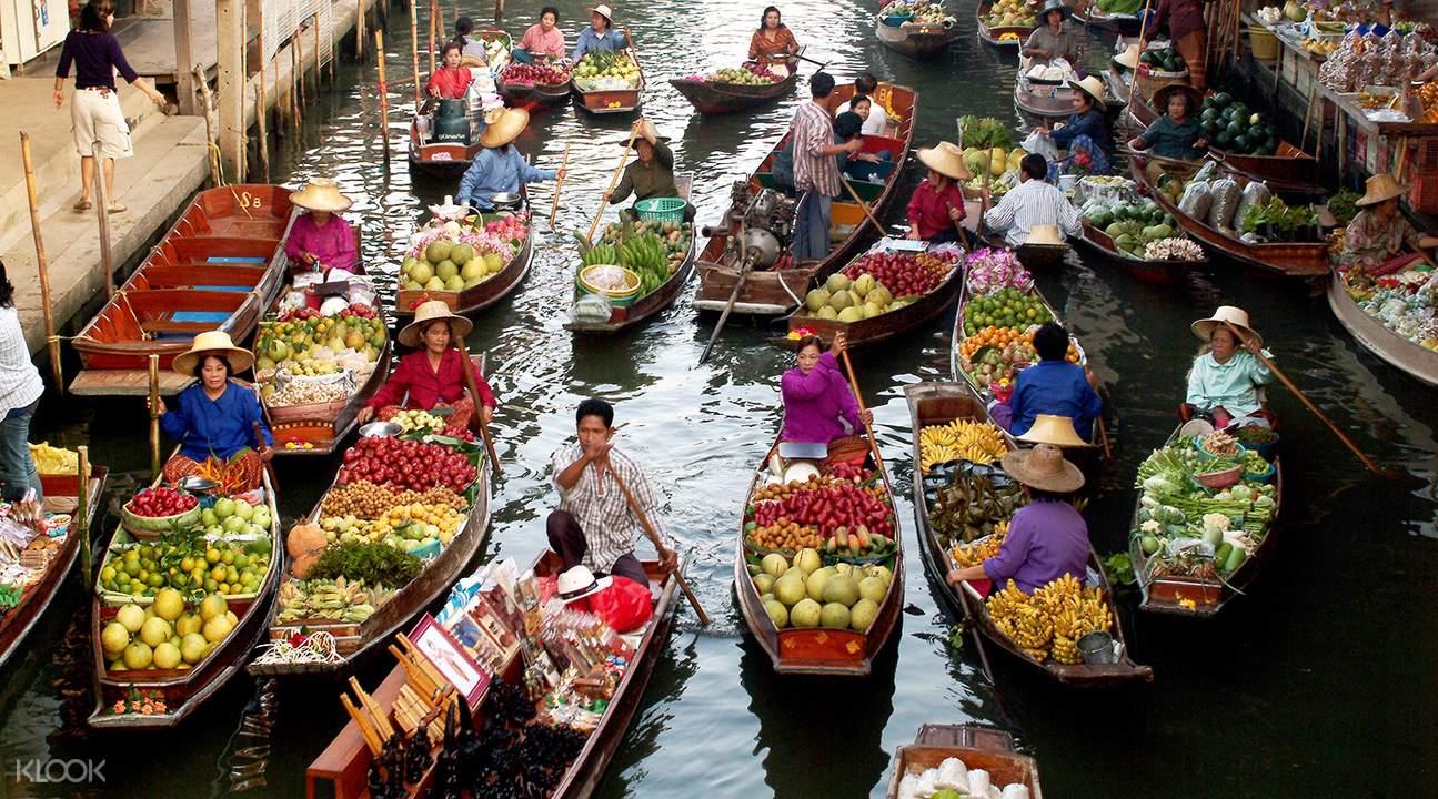 Best floating market in Bangkok