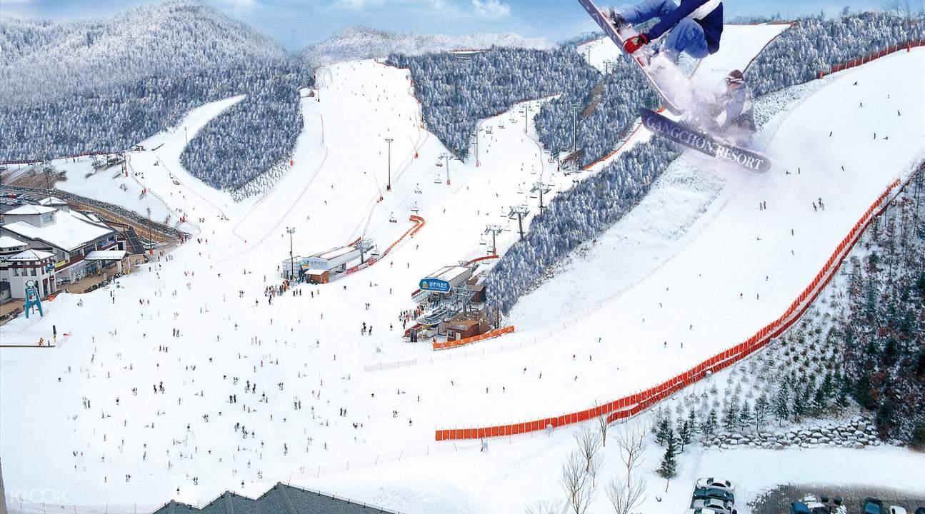 江村滑雪場
