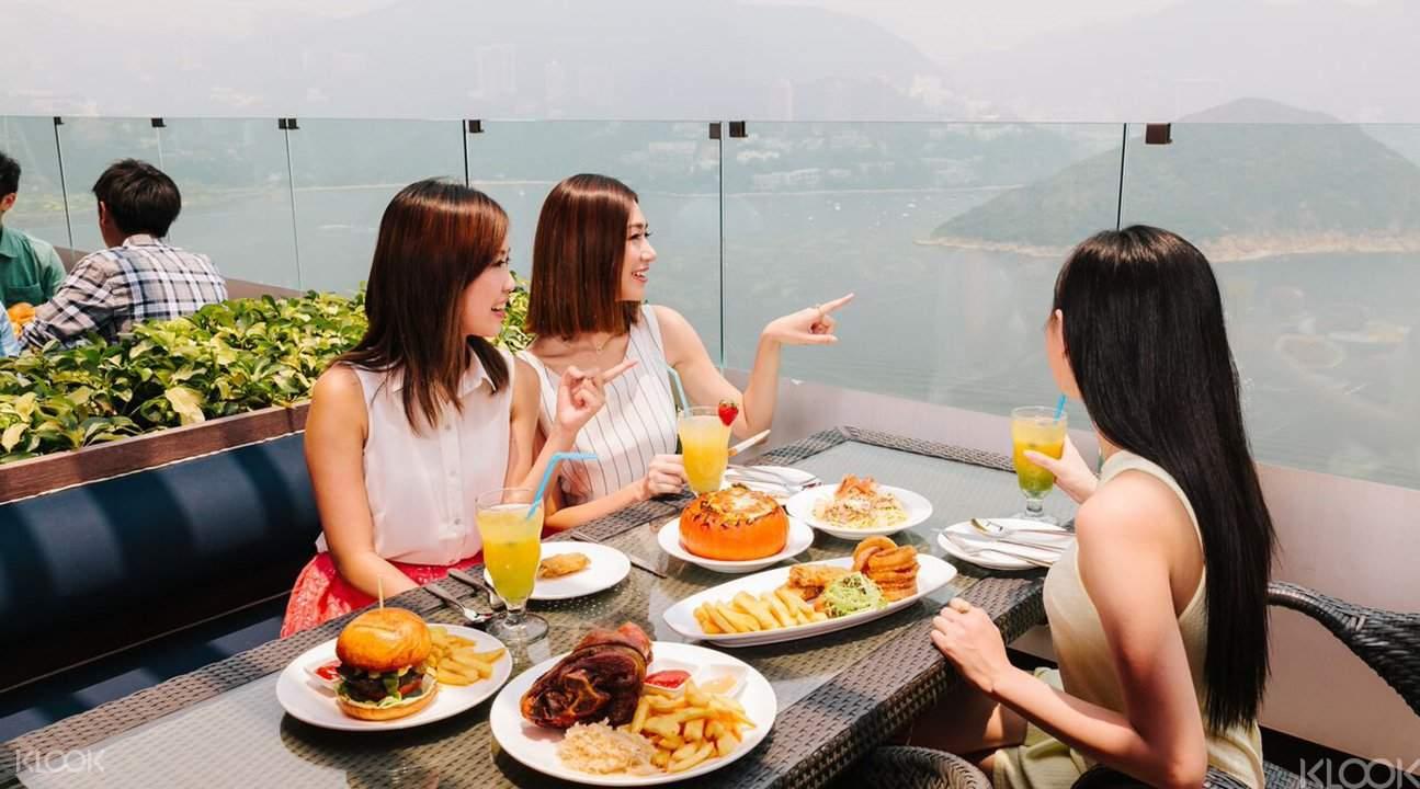 香港海洋公园 美食餐券