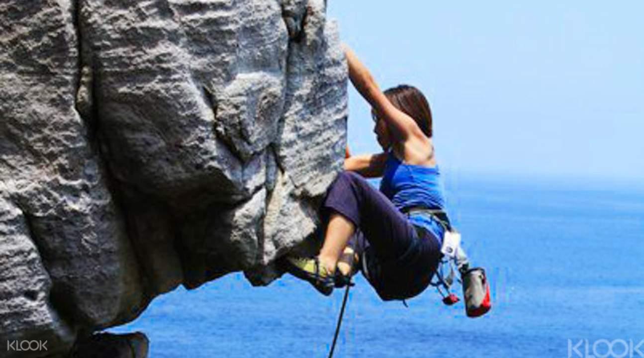 龙洞攀岩挑战之行