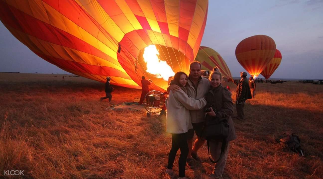 杜拜熱氣球