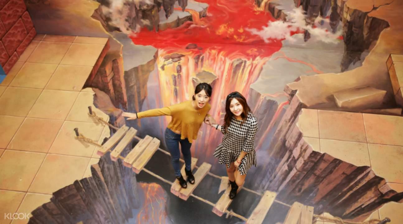 济州爱来魔相4D美术馆