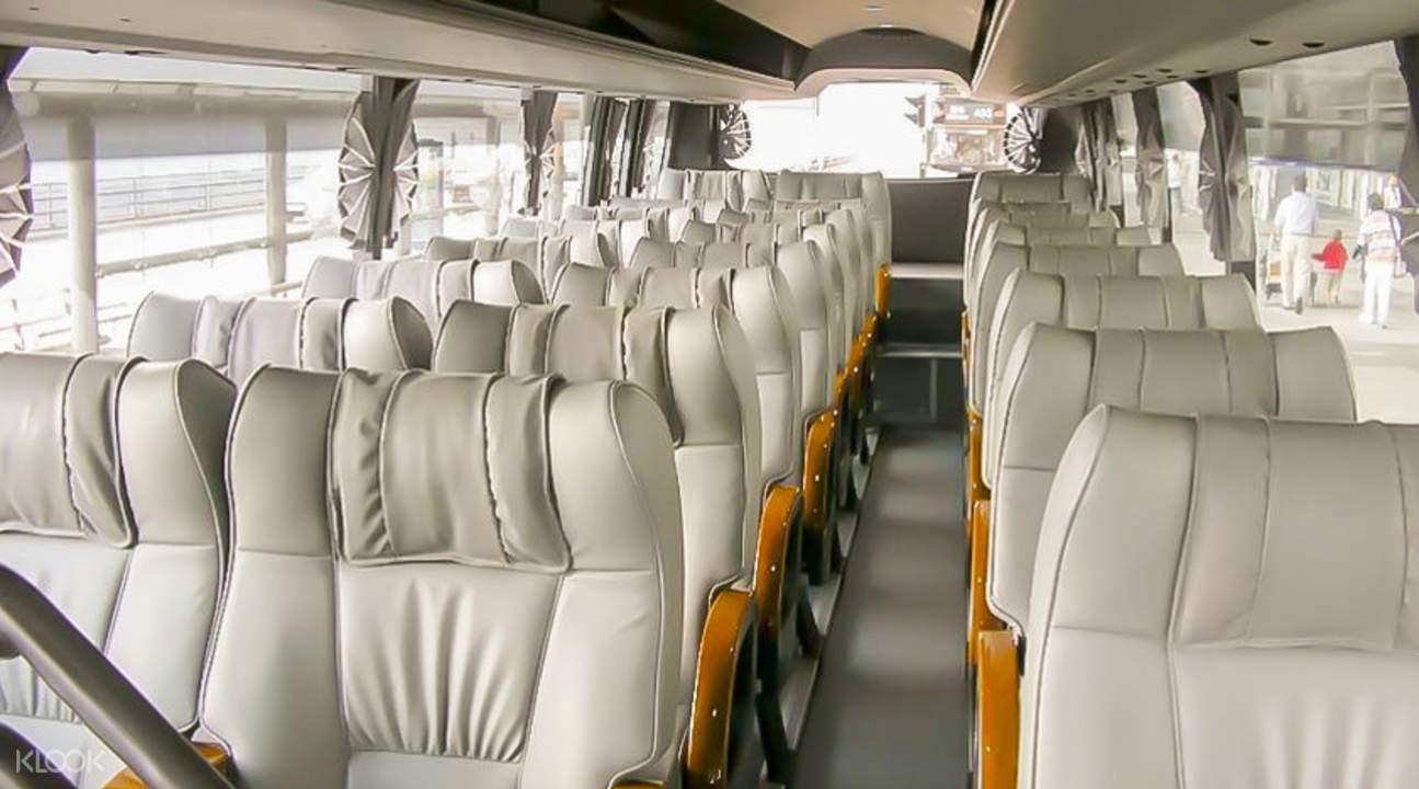 香港機場巴士內部