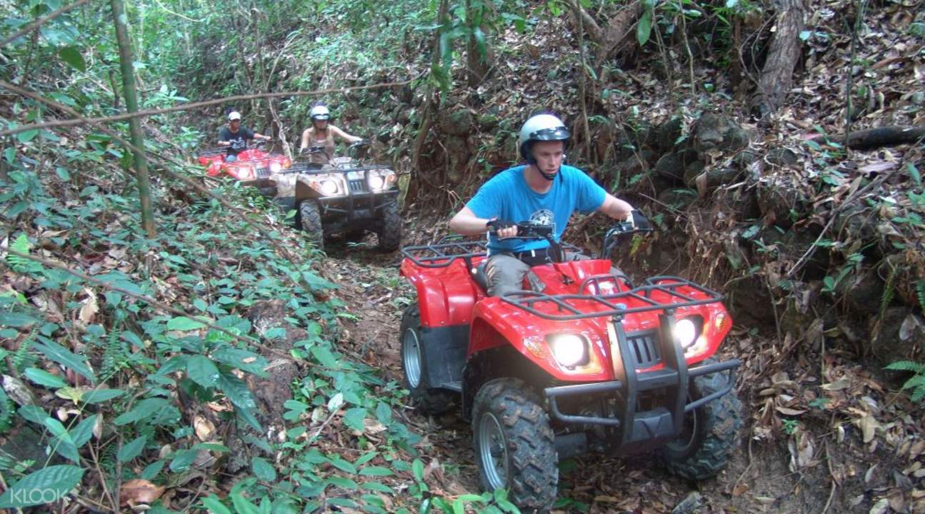 Krabi ATV tour