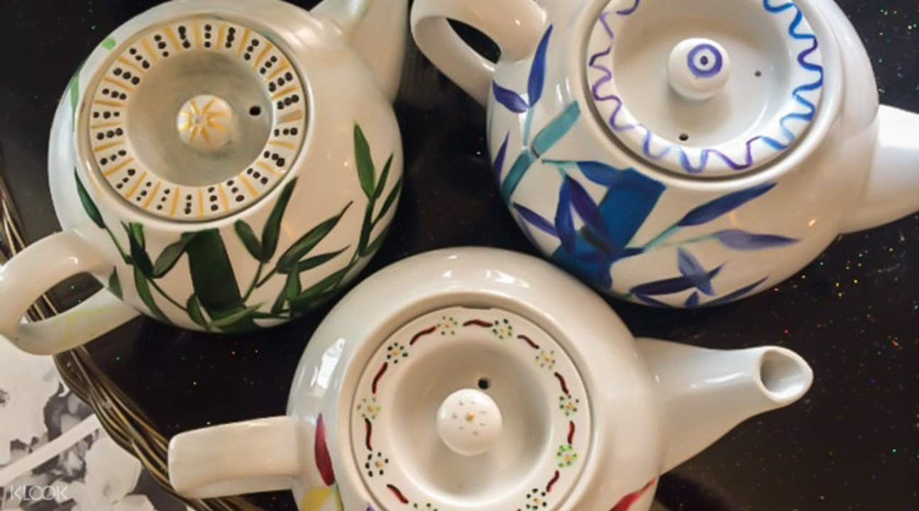 茶壶自由彩绘