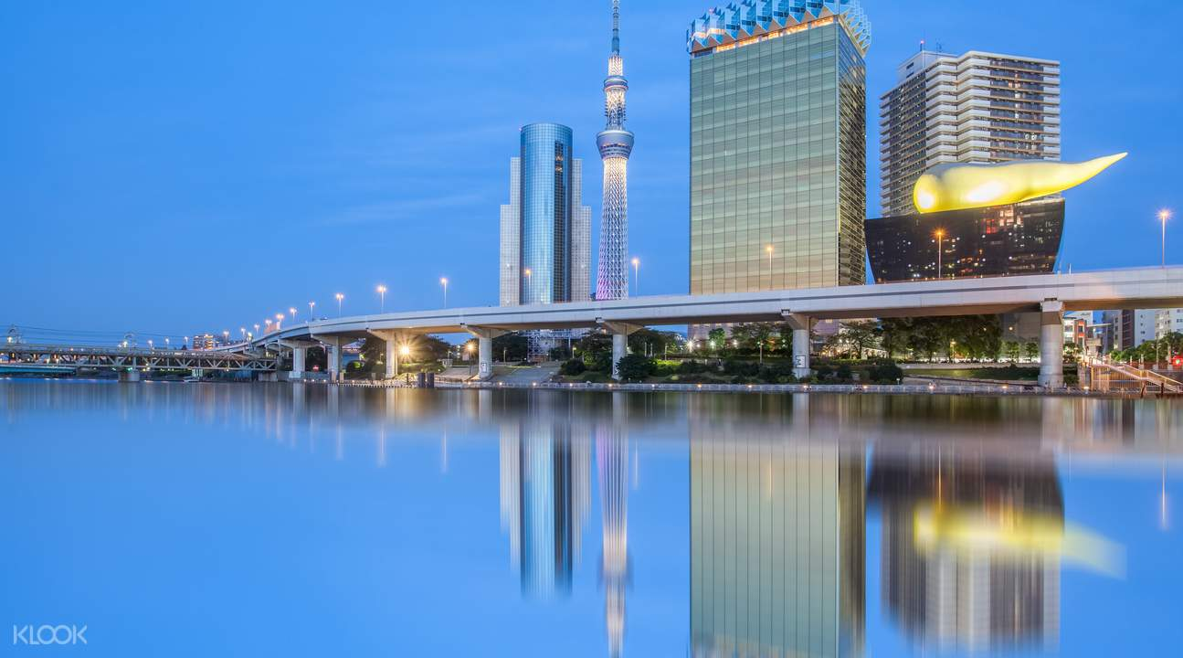 東京晴空塔Skytree夜景