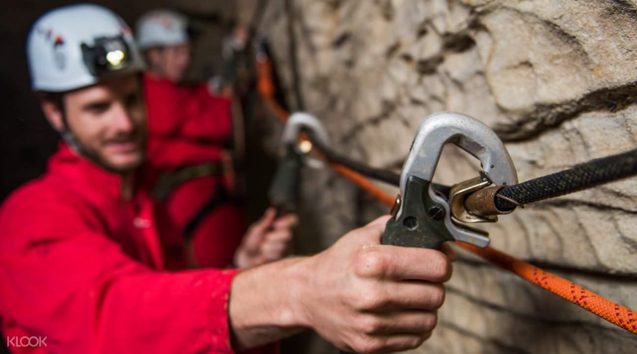 caving equipment waitomo caves