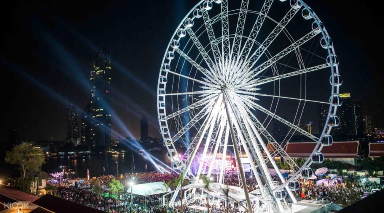 asiatique sky ferris wheel bangkok
