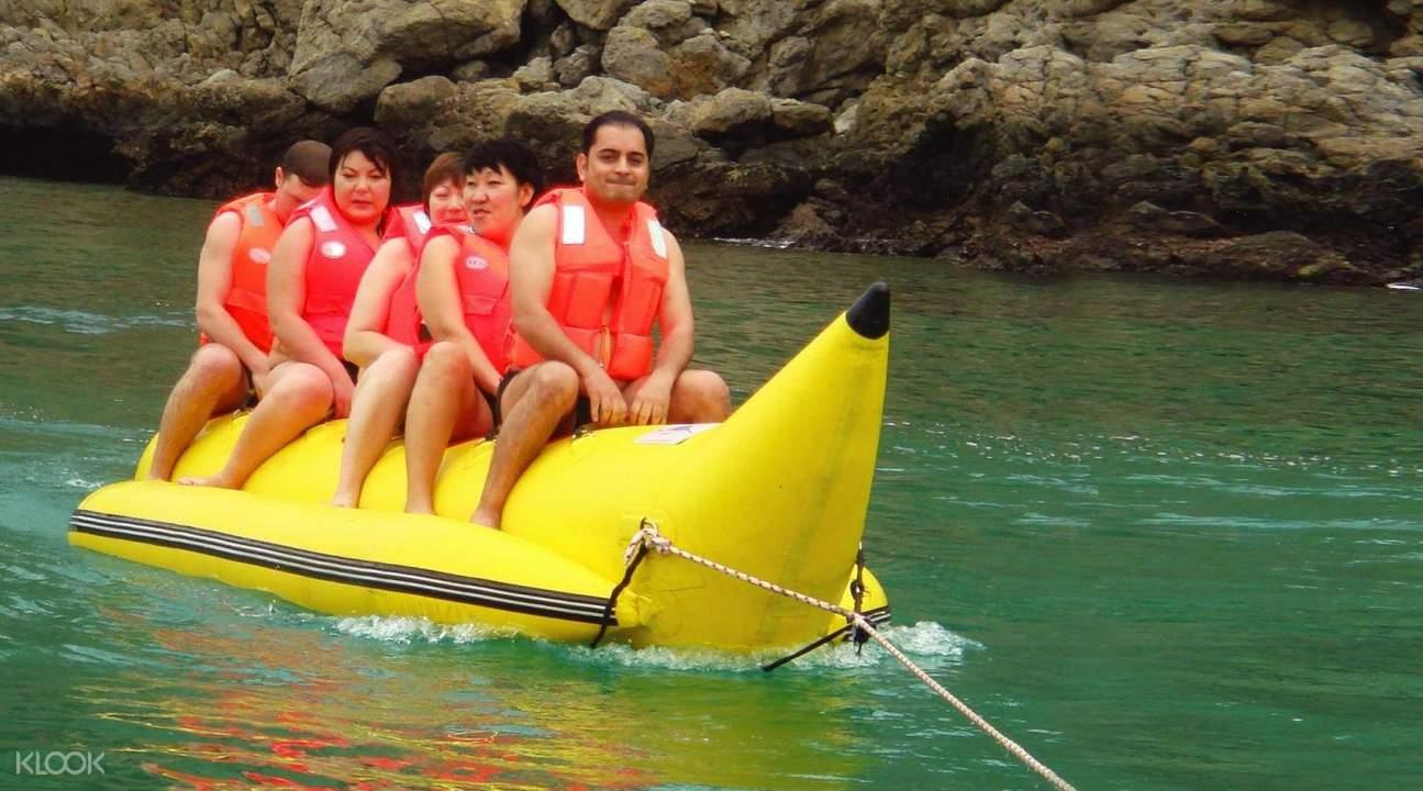 musandam tour banana boat dhow cruise