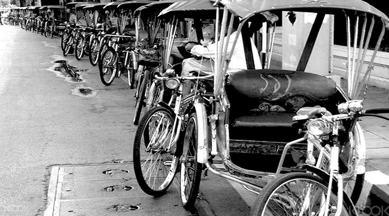 rickshaw tour chiang mai
