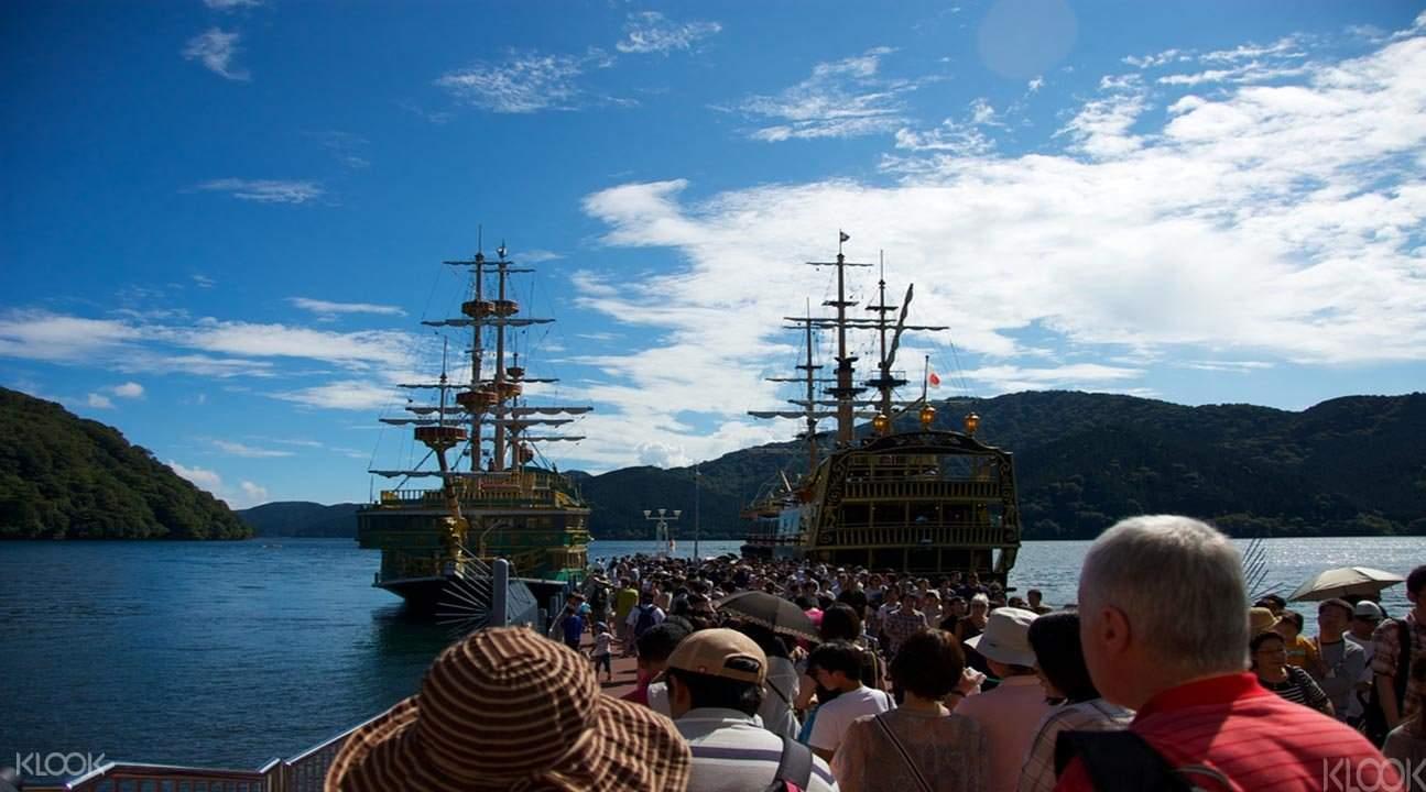 箱根蘆之湖&海賊船