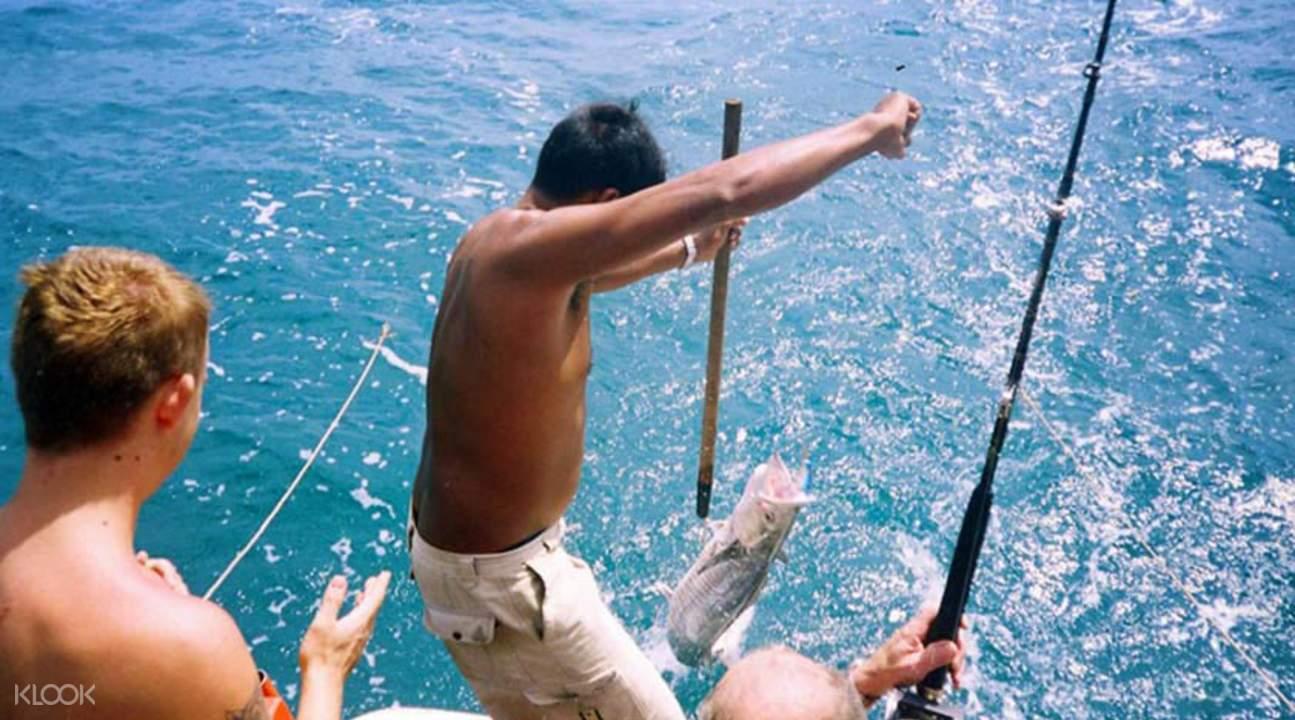 deep sea fishing samui thailand