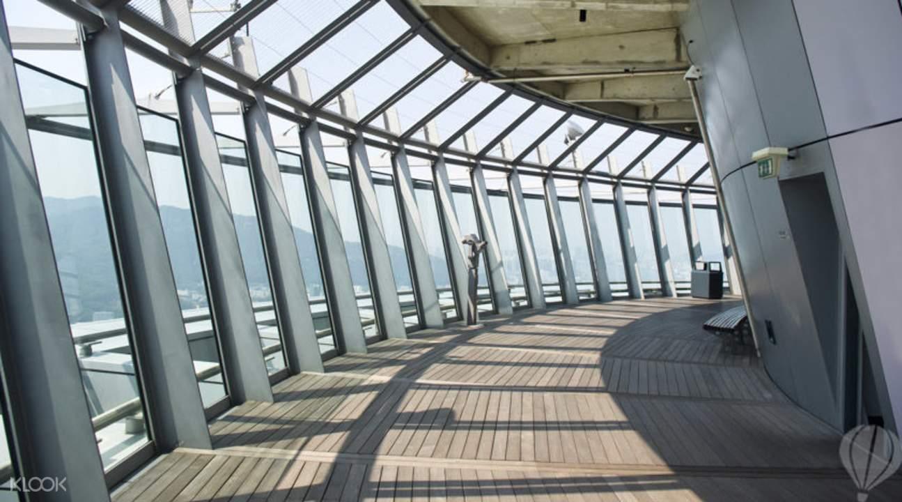 澳門旅遊觀光塔空中長廊