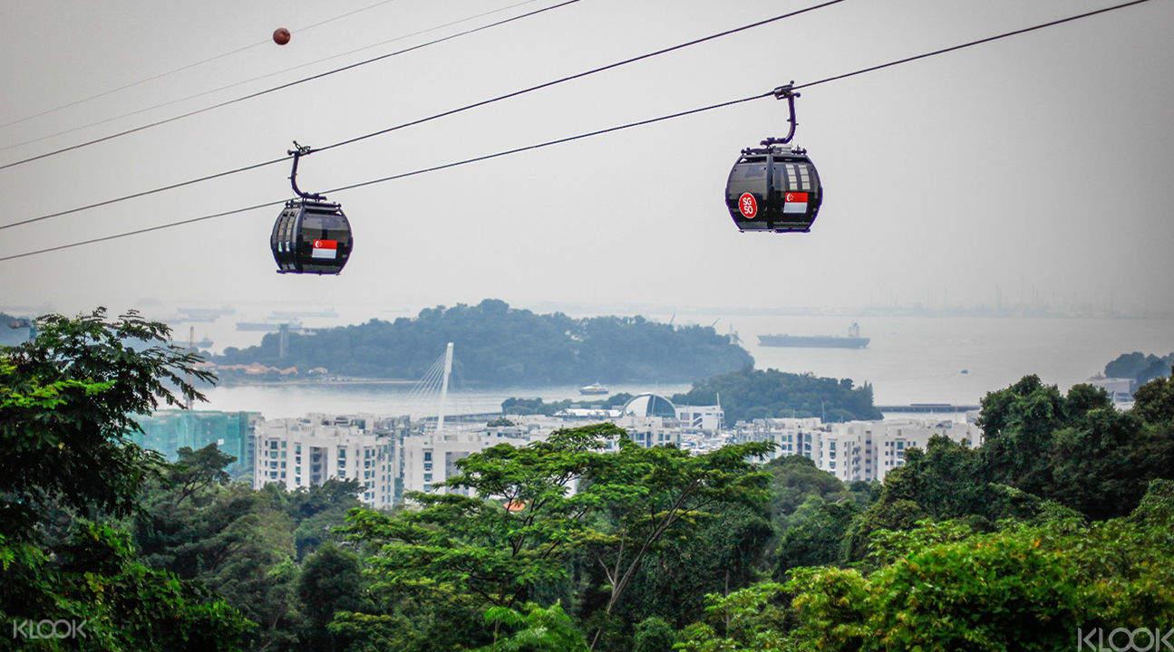 新加坡纜車空中晚宴