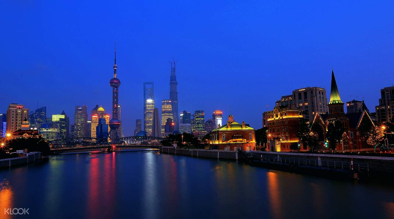 Shanghai night tour