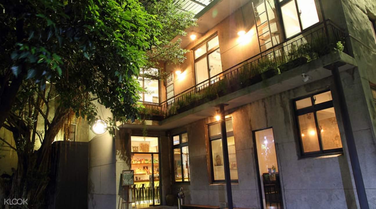 1樓酒吧,2樓咖啡廳