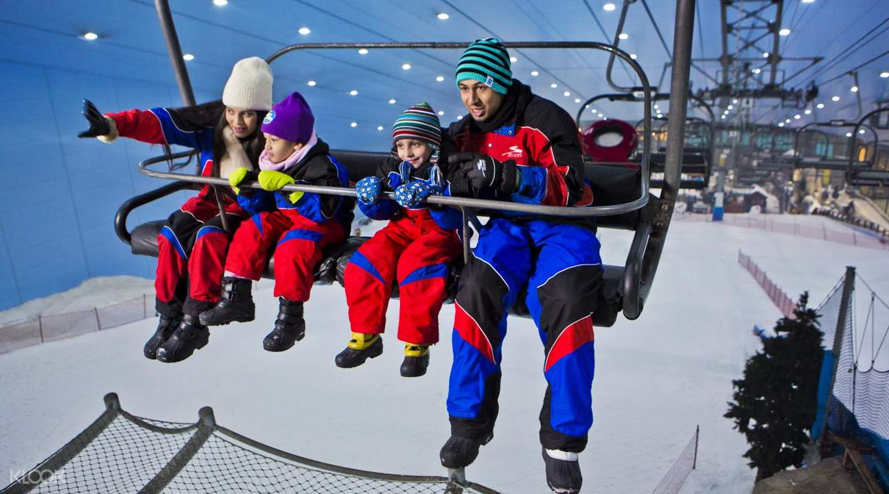 ski lift dubai tourism ski dubai