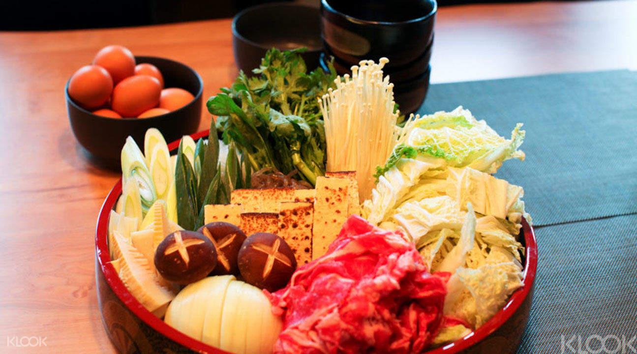 Shabu shabu dining in Roppongi tokyo