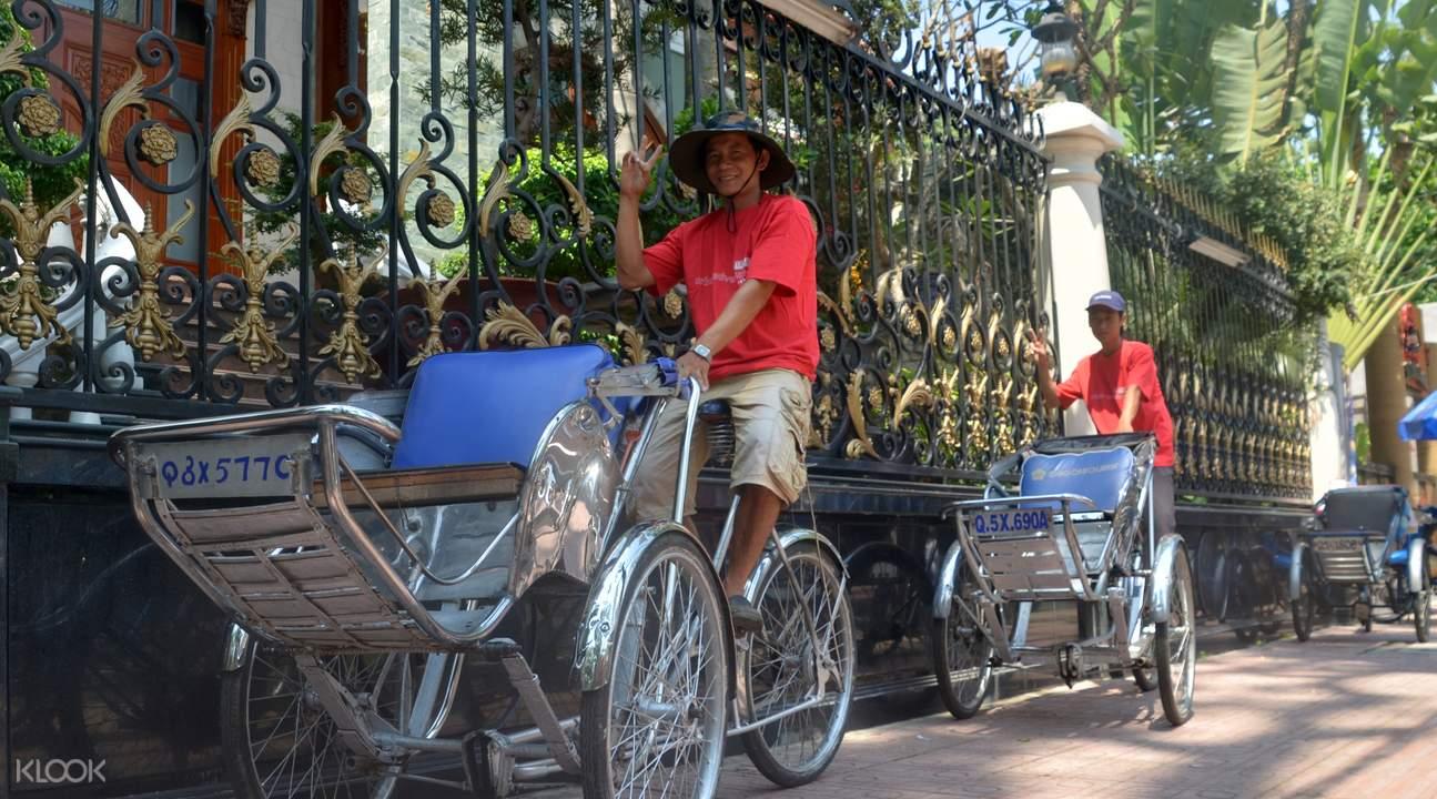 胡志明三輪車