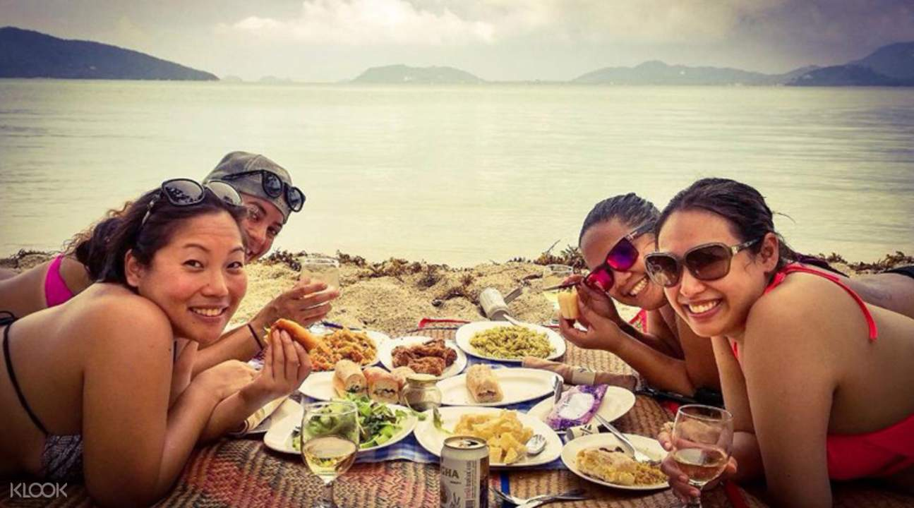 海边野餐私人狂欢