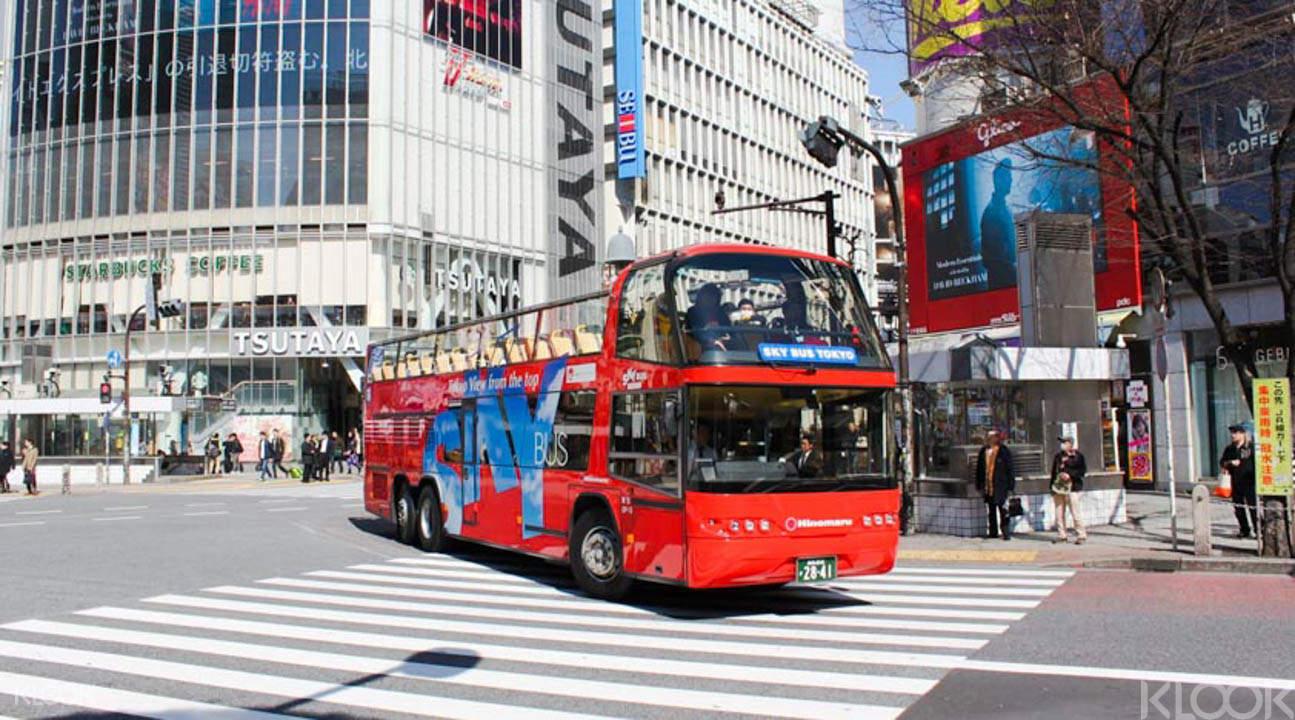 大巴遊東京