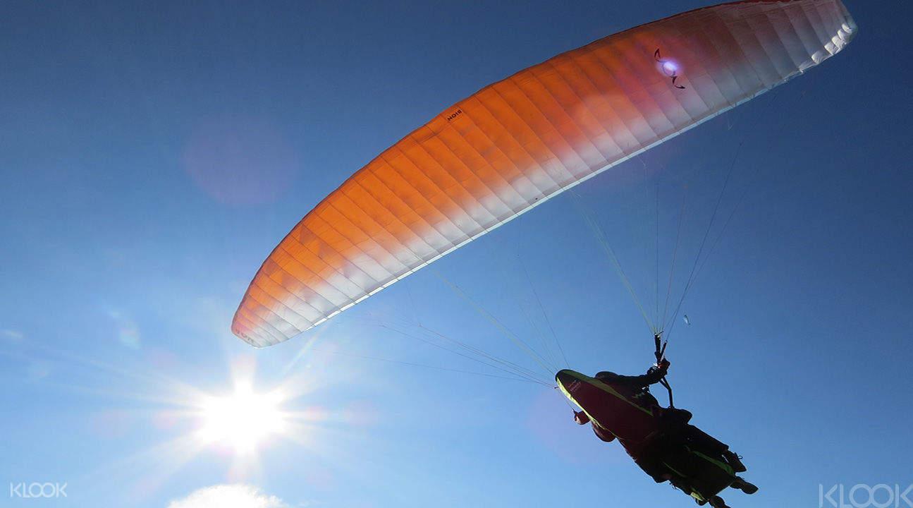 埔里無動力飛行體驗