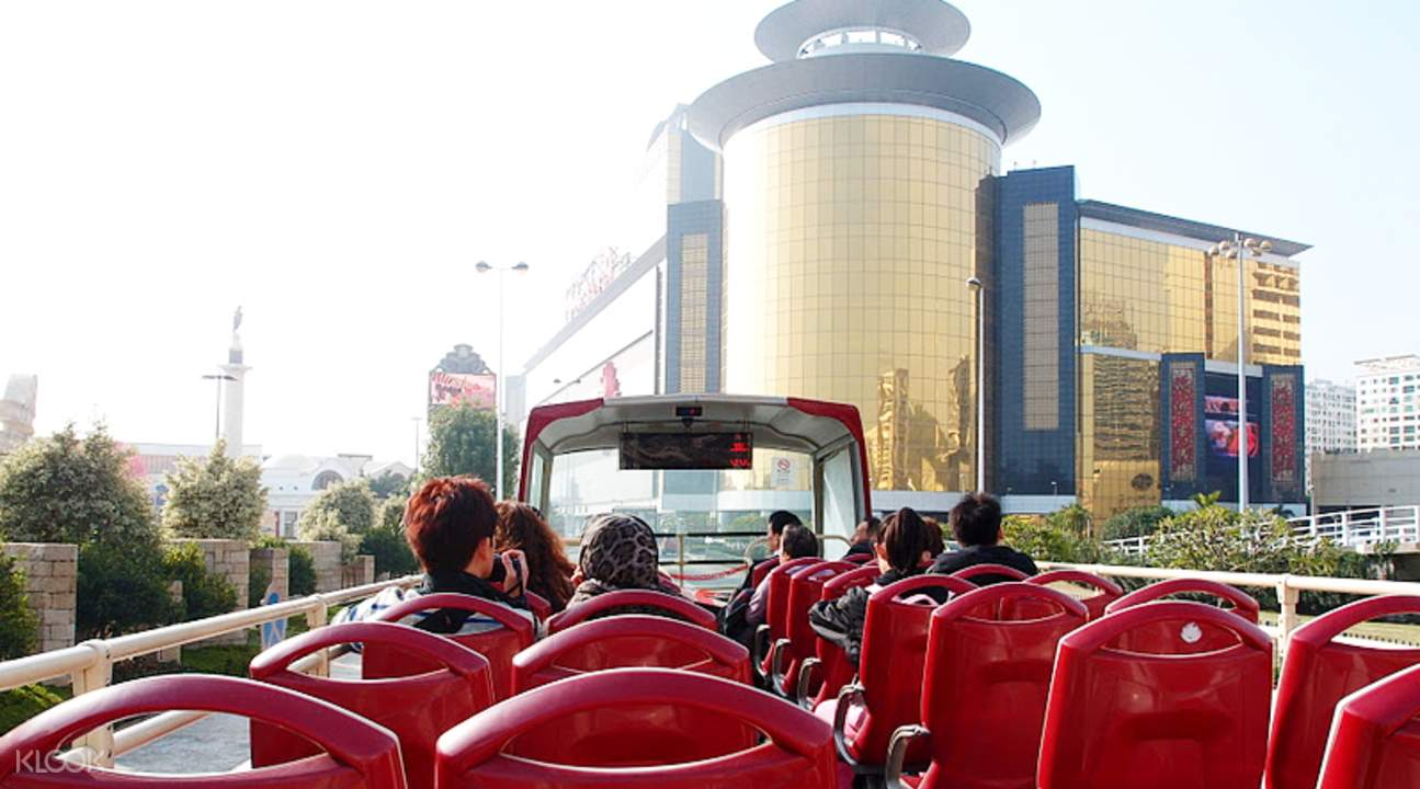Macau bus tour