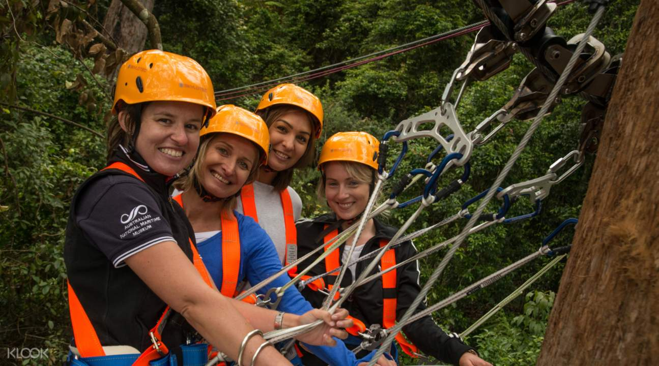 illawarra fly zipline tour groups