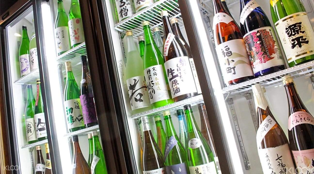 Sake tasting Tokyo