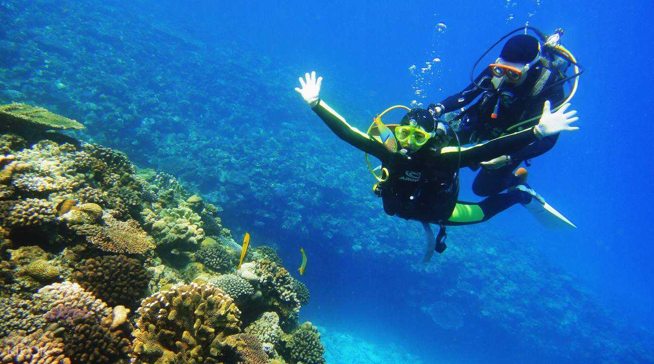 onna village blue cave snorkel