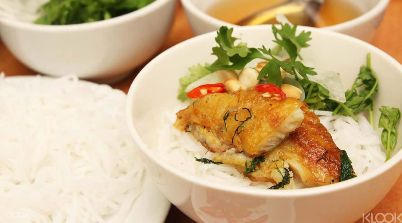 Cha Ca Hanoian Meal