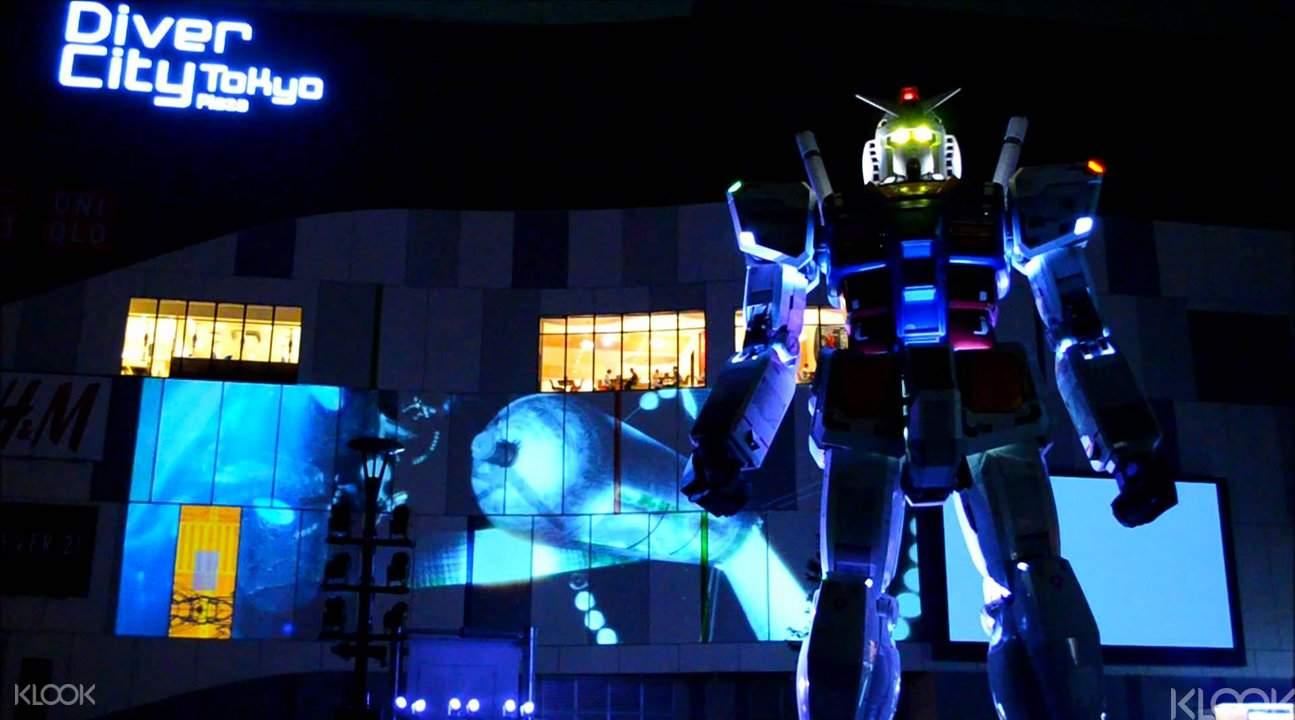 Gundam Interactive Counter