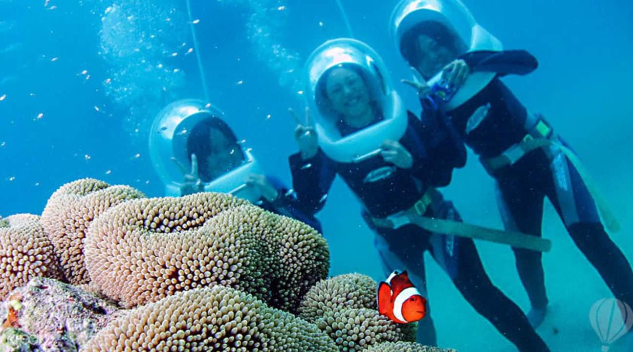 贝里海底漫步