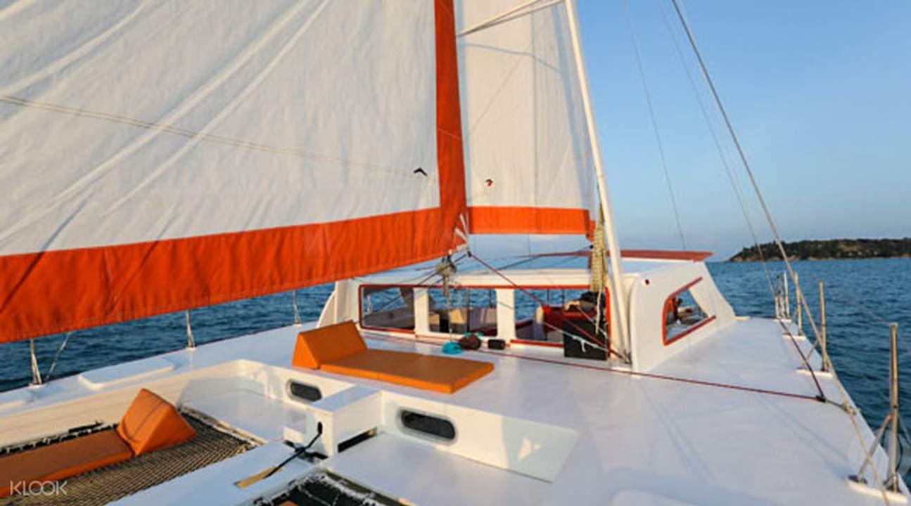 私人帆船苏梅海上游