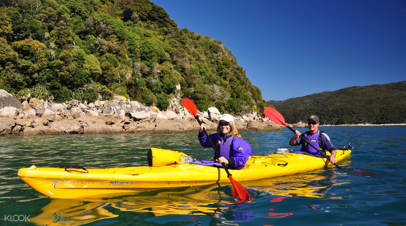 double kayak in nelson