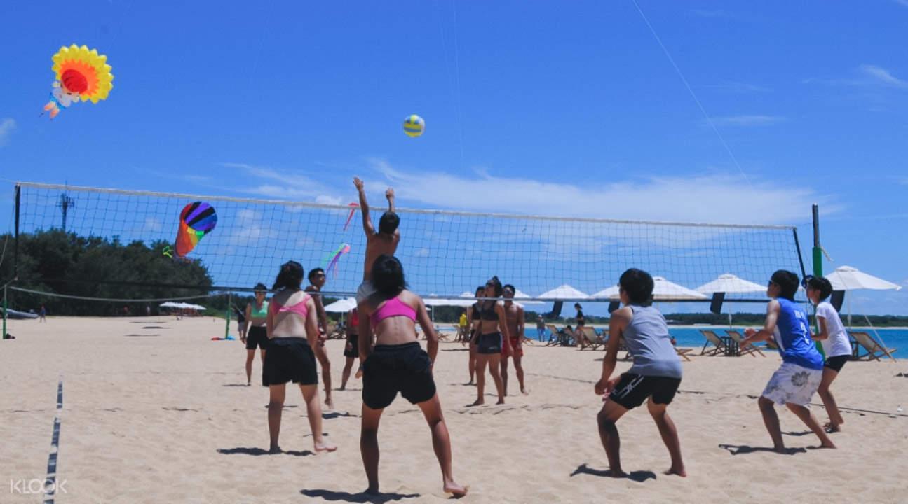 隘門金沙灘排球