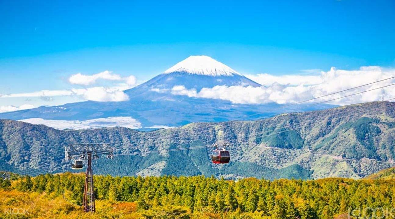 大涌谷富士山