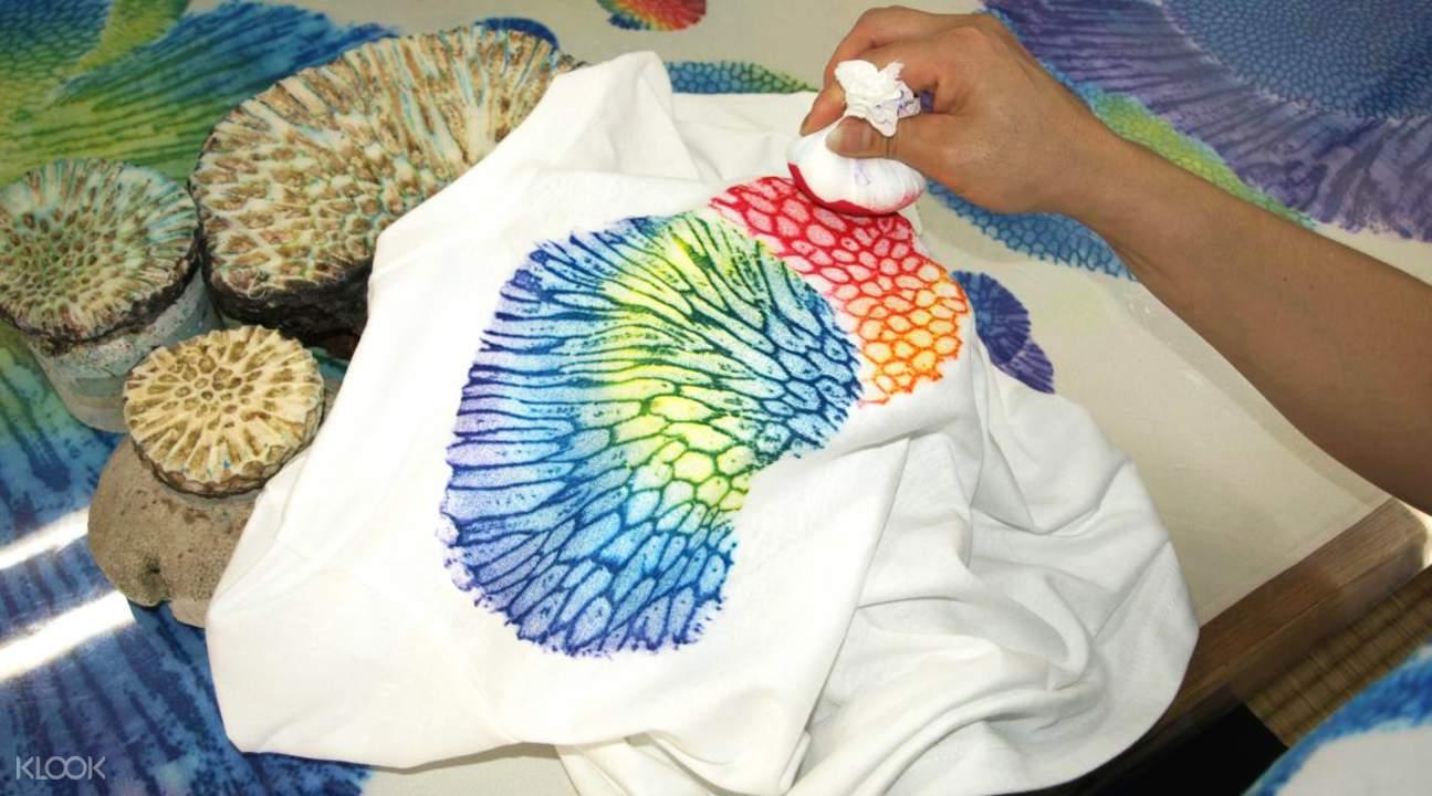 親自體驗傳統琉染工藝