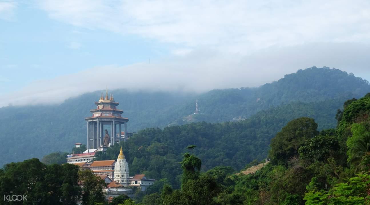 檳城山和古寺觀光遊