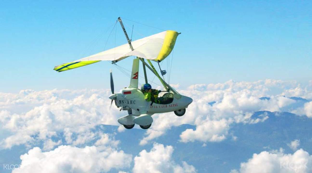 炫酷飛航喜馬拉雅山脈