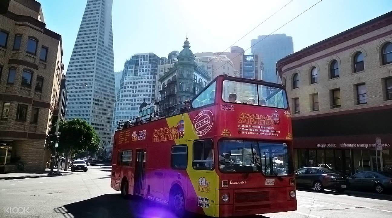 三藩市City Sightseeing城市观光巴士