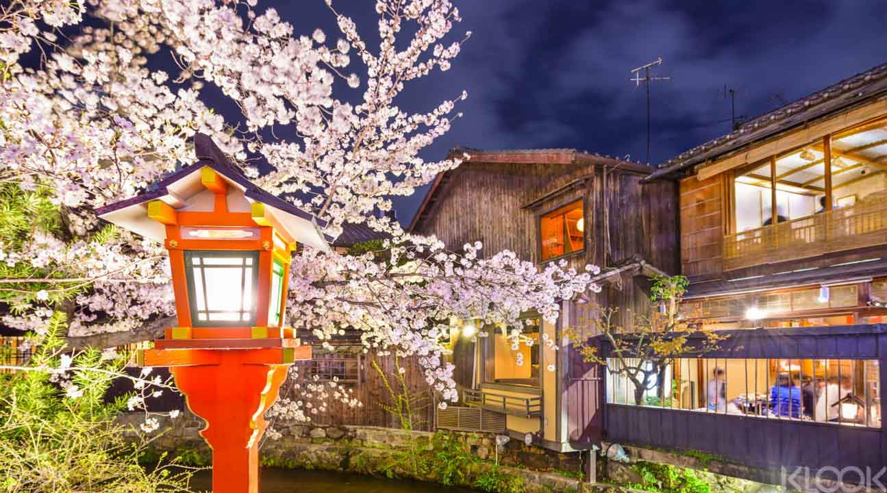 日式风情大赏之祗园夜游
