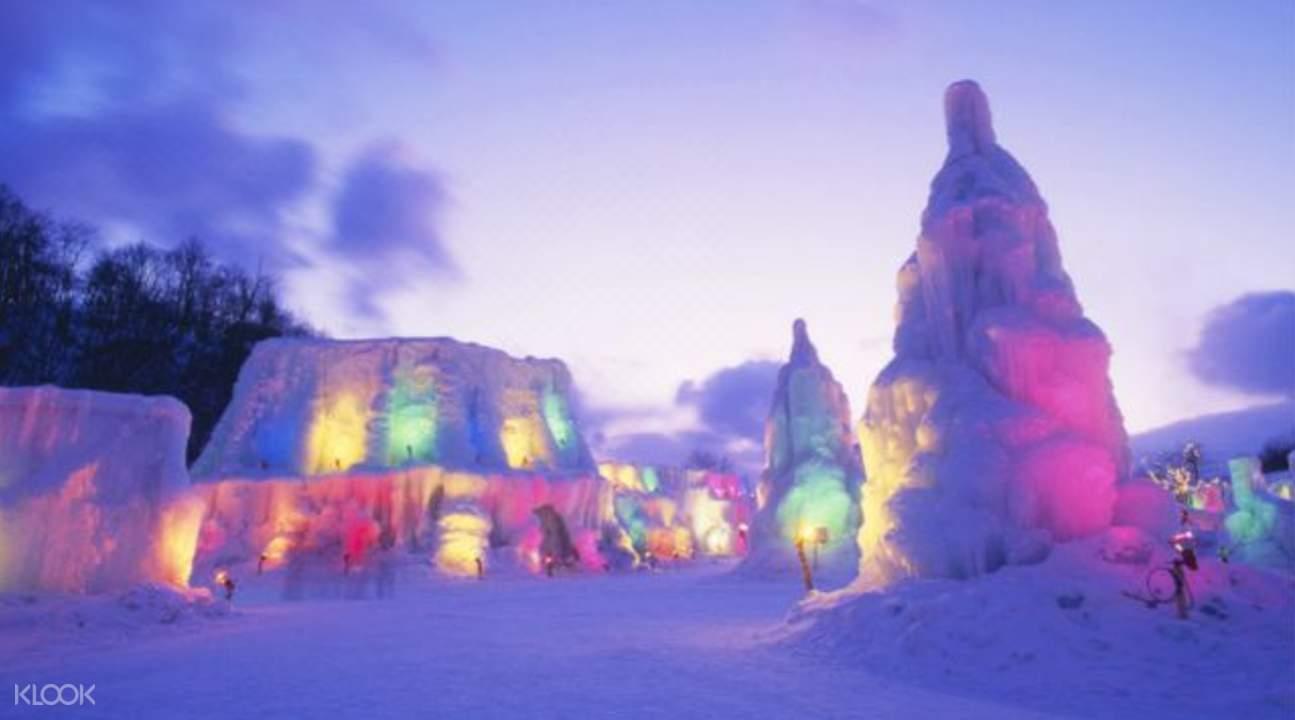 hokkaido ice festival tickets