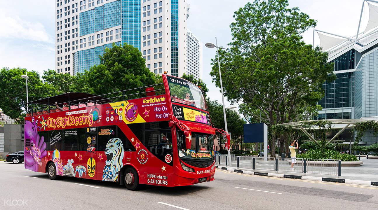 Singapore Sightseeing Bus