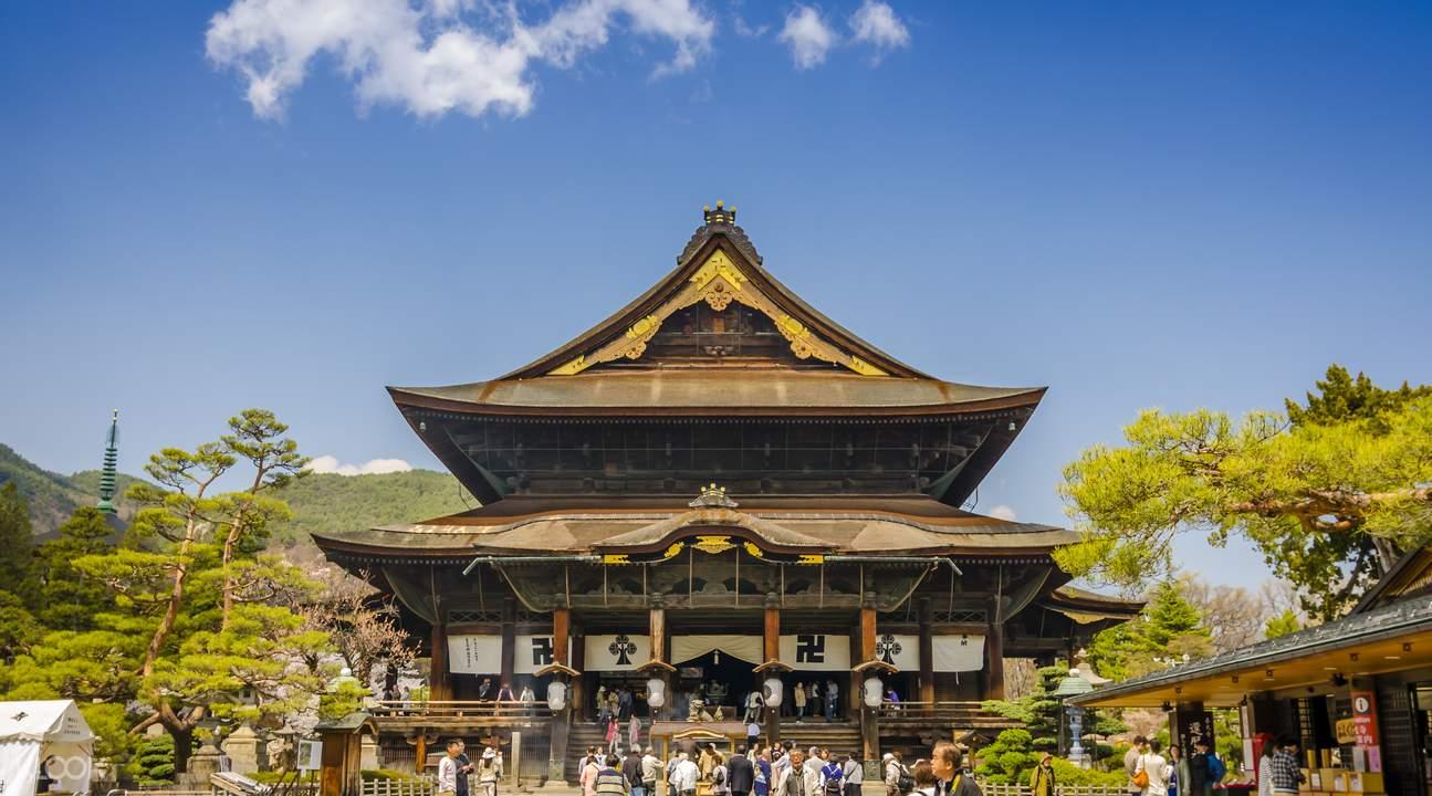 zenkoji temple japanese temple