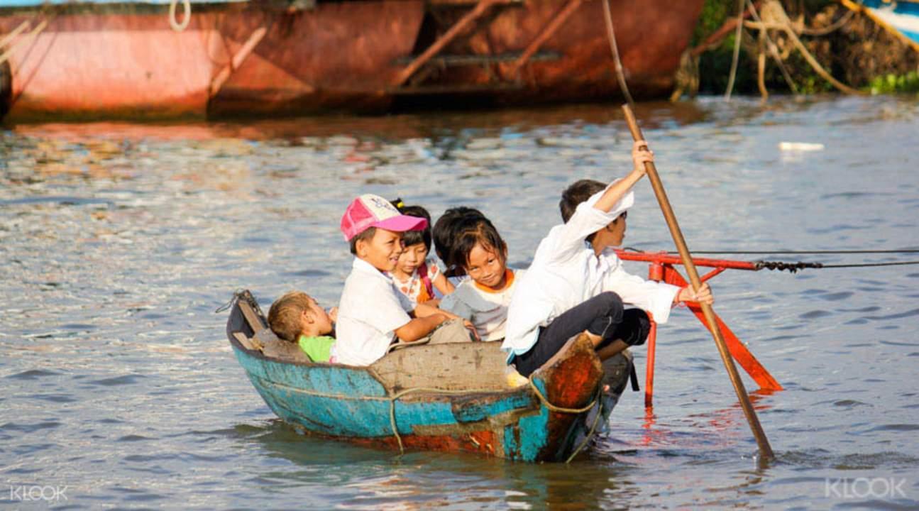 水库骑行与浮村泛舟