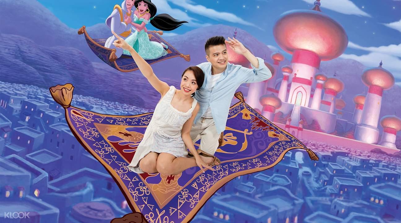 香港迪士尼4D奇幻馆互动